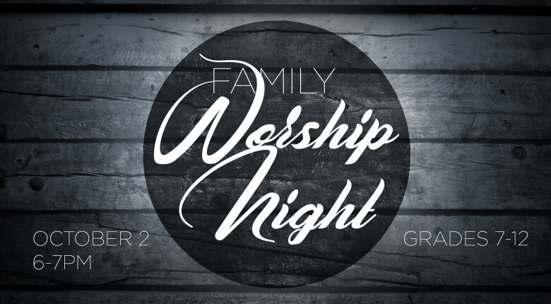 Eagle Student and Family Worship Night