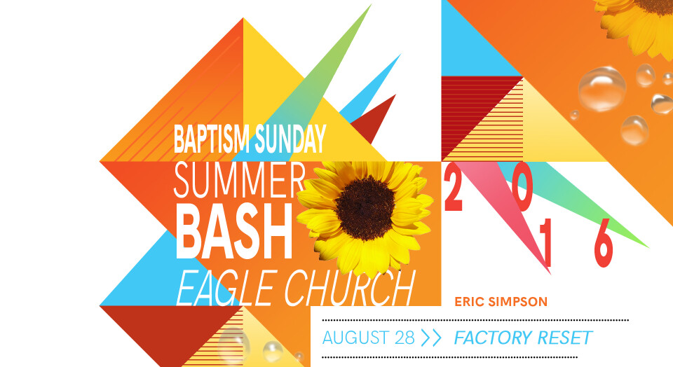 Summer Bash 2016: Factory Reset