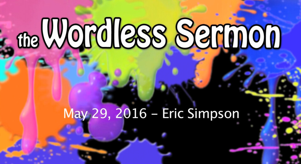 The Wordless Sermon